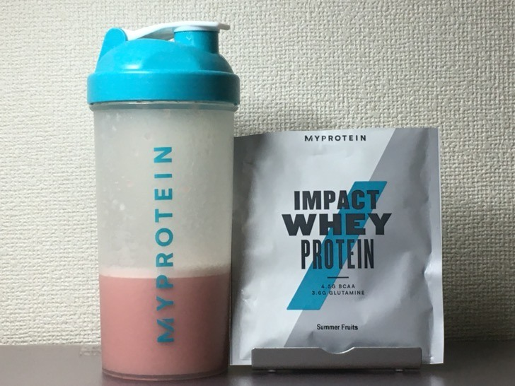 My protein drink summer fruits